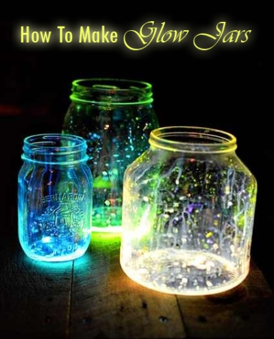 How To Make Glow Jars 1