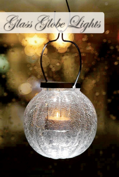 How To Make Outdoor Glass Globe Lights 1