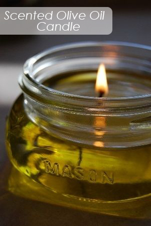 How To Make Scented Olive Oil Candles
