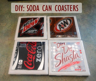 Soda Can Coasters 1