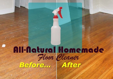 The Best All Natural Homemade Floor Cleaner 1