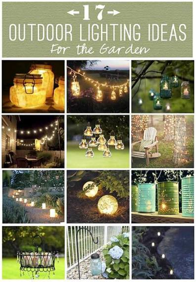 17 Outdoor Lighting Ideas