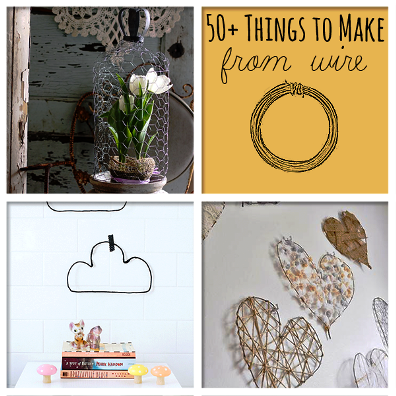 50+ Awesome Things To Craft From Wire 1