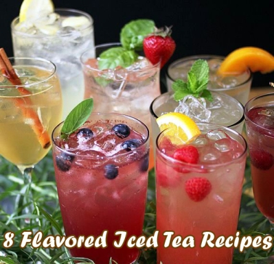 8 Flavored Iced Tea Recipes 1