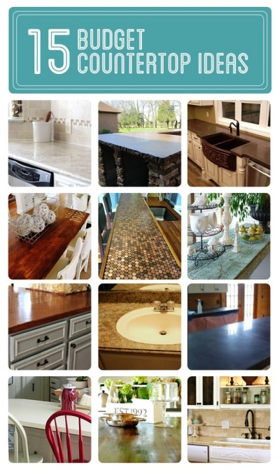 Budget Countertop Ideas