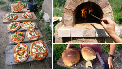 Build Your Own Pizza Oven For $20 1