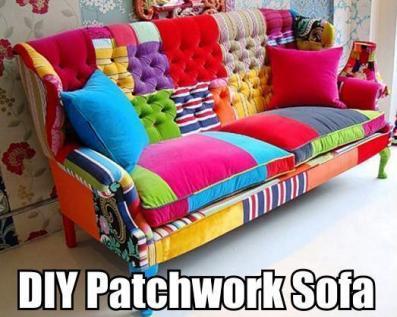 DIY Patchwork Sofa 1