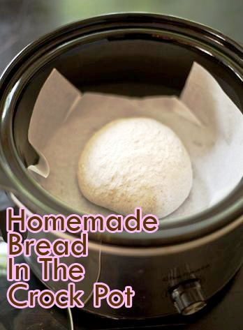 Homemade Bread In The Crock Pot