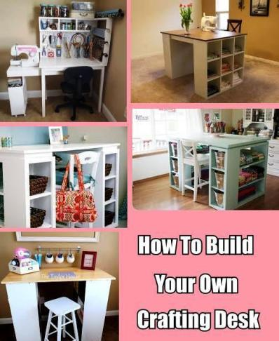 How To Build Your Own Crafting Desk 1