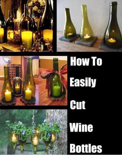 how to easily cut the bottom off a wine bottle ForHow To Cut The Bottom Off A Wine Bottle Easily