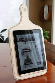 How To Make A Kitchen Tablet Holder