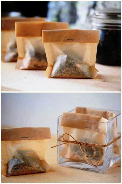 How To Make Bath Time Tea Bags