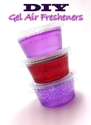 How To Make Your Own Gel Air Freshener