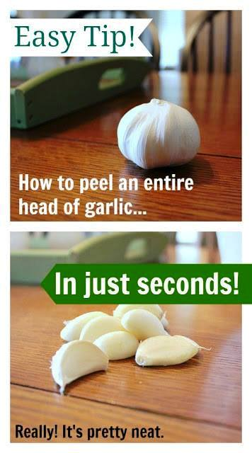 How To Peel An Entire Head Of Garlic In Seconds