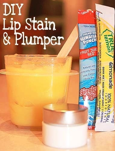 Lip Stain and Plumper