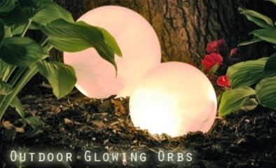 Outdoor Glowing Orbs 1