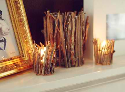10 DIY Projects Using Tree Branches