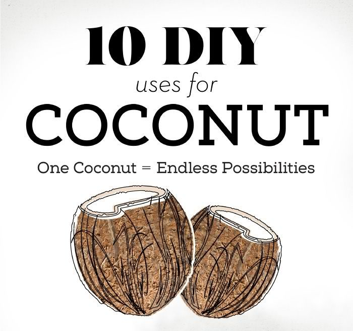 10 DIY Used for Coconuts