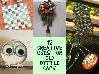 12 Creative Uses For Old Bottle Caps 1