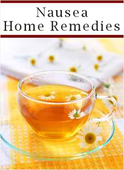 12 Home Remedies For Nausea