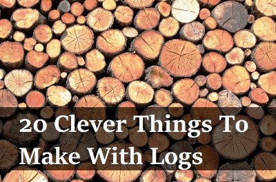 20 Clever Things To Make With Logs 1