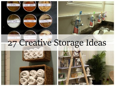 27 Creative Storage Ideas 1
