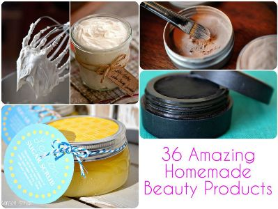 36 Amazing Homemade Beauty Products 1