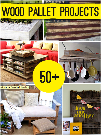 50+ DIY Projects With Pallets