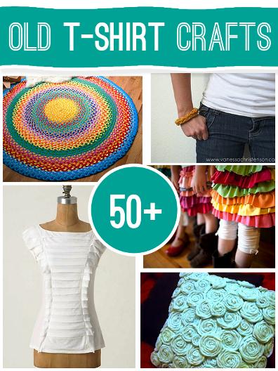 50+ Fantastic Old T-shirt Crafts