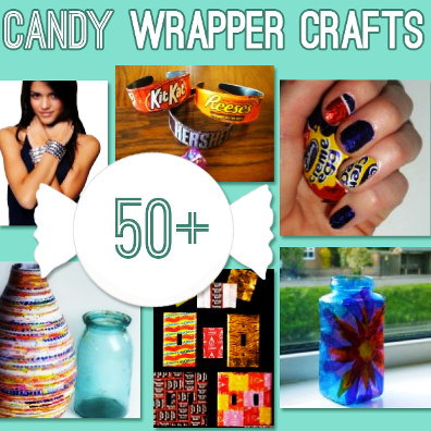 50 Candy Wrapper Crafts 1