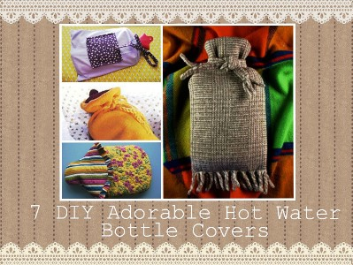 7 DIY Adorable Hot Water Bottle Covers 1
