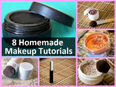 8 Homemade Makeup Tutorials 1