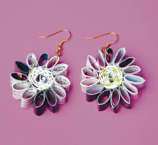DIY Accessories Daisy Earrings