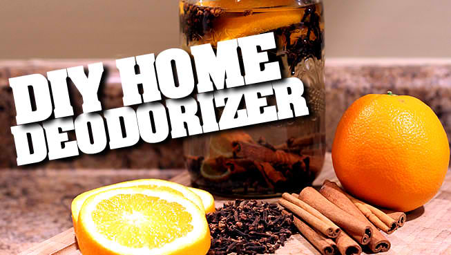 DIY Natural Home Deodorizers & Air Fresheners!