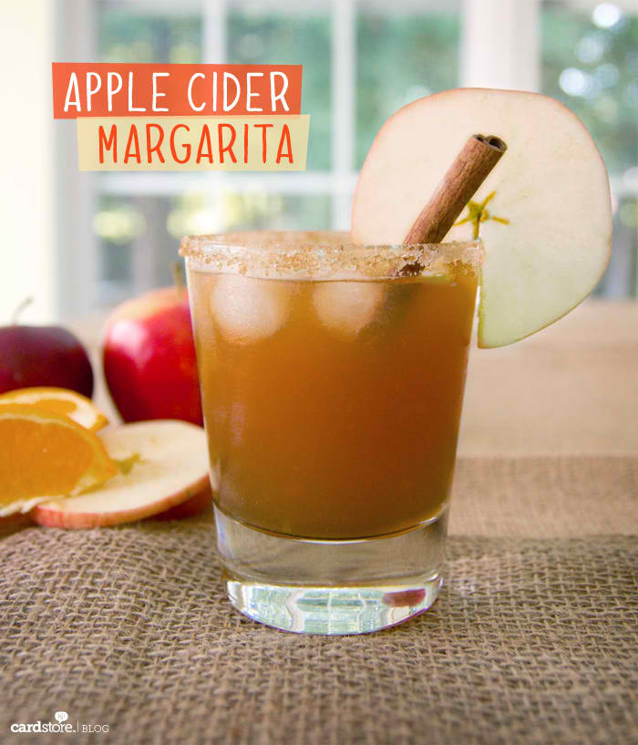 Delicious Apple Cider Margarita Made at Home