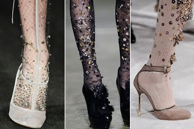 Embellish Your Tights!
