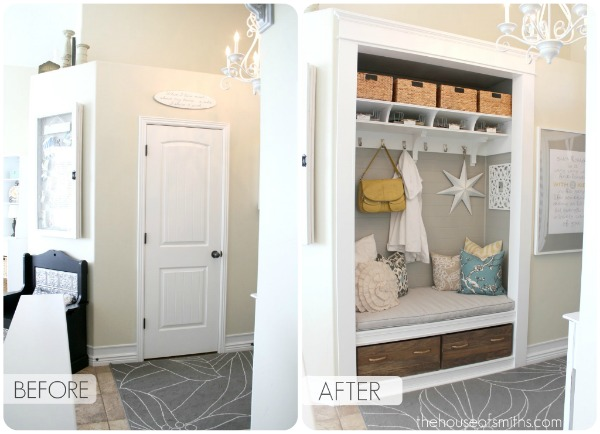 Entry Way Closet Makeover