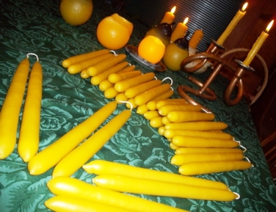 How To Make Perfect Taper Candles 1
