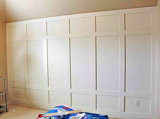 How to Do Paneled Wall