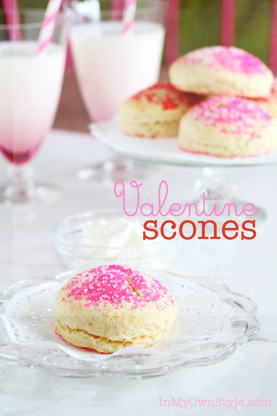Valentine Scones Recipe