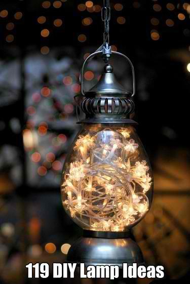 119 Very Cool DIY Lamp Ideas