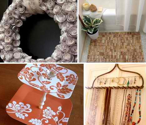 14 Eco Friendly Crafts For The Home