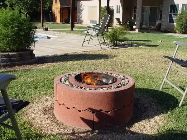 $50 Fire Pit Tutorial