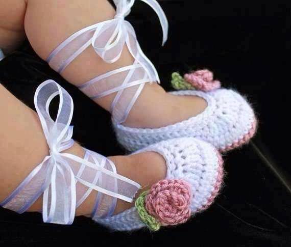 Adorable Baby Ballerina Slippers