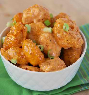 Bang Bang Shrimp Party Snack Recipe