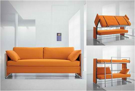 Couch Bunk Bed – Convertible Sofa Bed