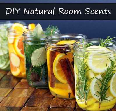 Five DIY Natural Room Scents With Herbs, Spices & Fruits