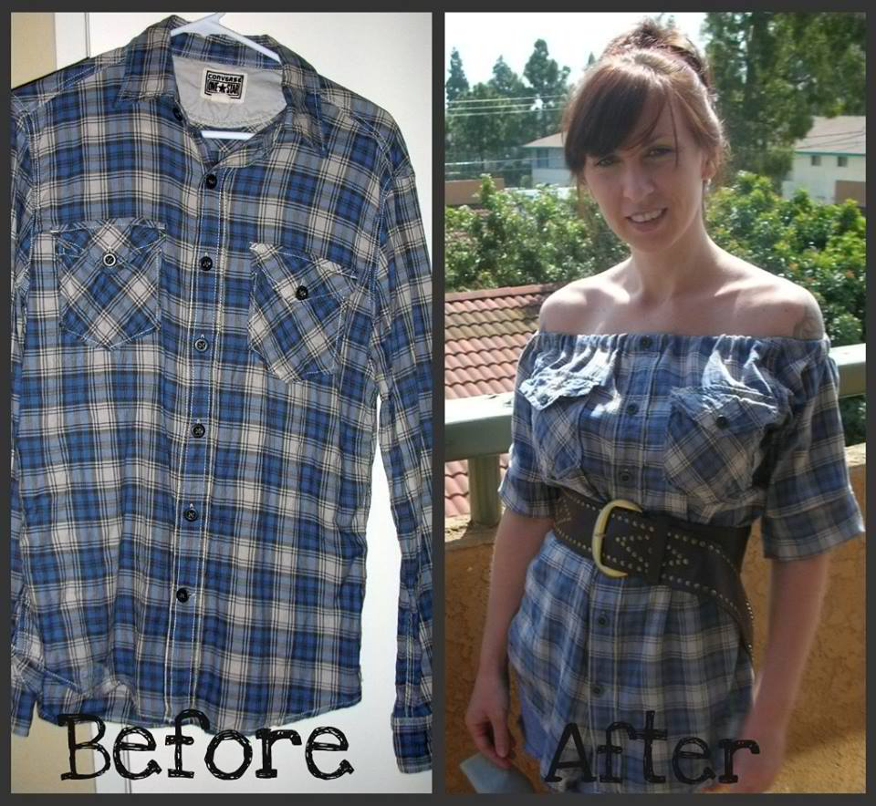 Flannel Makeover