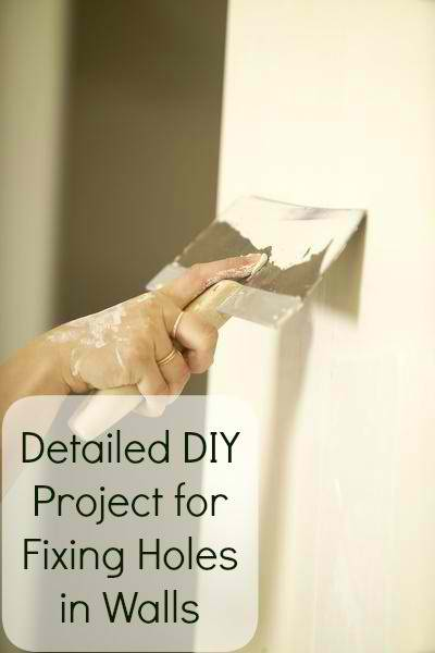Great DIY Project for Fixing Holes in Walls