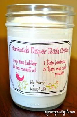 How To Make A Homemade Diaper Rash Cream